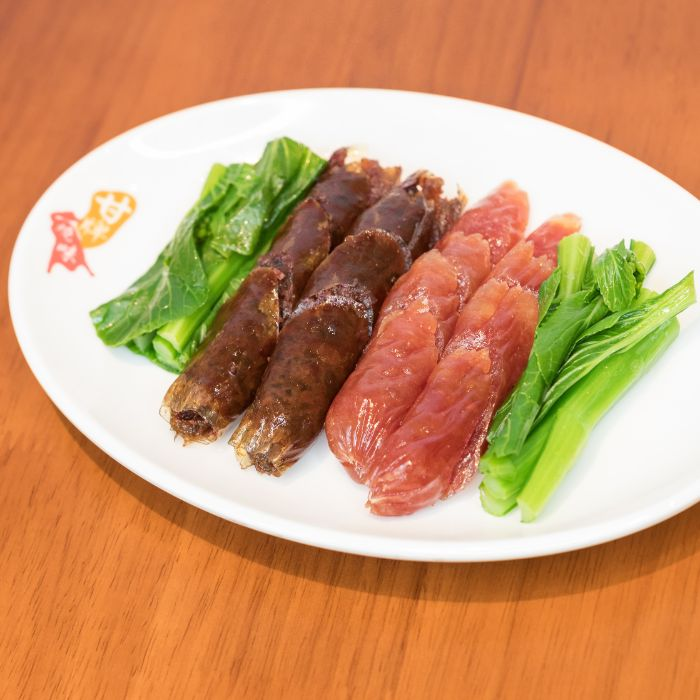 Cured Mixed Sausages 双拼香肠